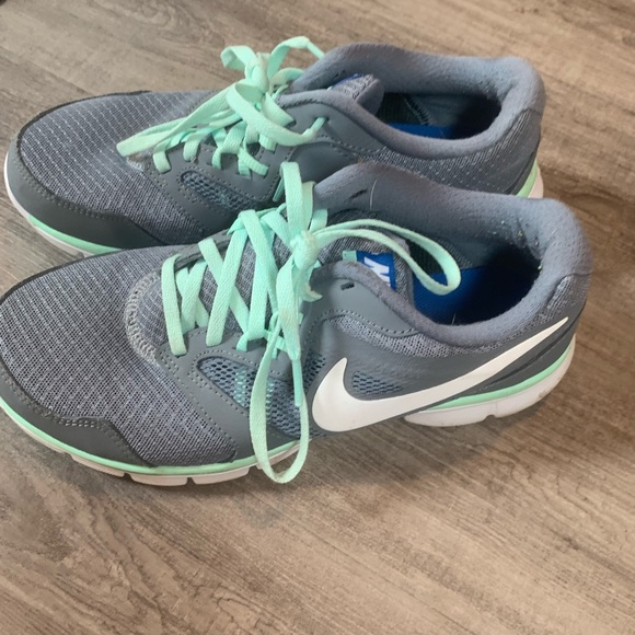 Nike Shoes | Gray And Mint Colored